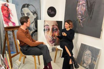 Zu Besuch bei der Malerin Dasha Minkina